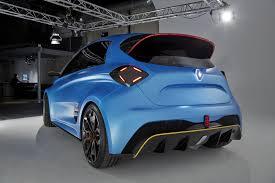 concept renault renault zoe e sport concept quicker to 60 mph than formula e