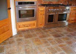 rustic kitchen flooring home design