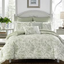 green bed set laura ashley natalie green comforter set jcpenney