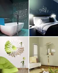 mirror decals home decor 16 mirrored wall stickers add visual depth to room decor
