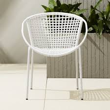 Cb2 Patio Furniture by Sophia Silver Dining Chair Cb2