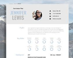 cv and cover letter resume template for word printable cv for word high impact