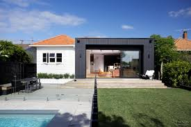 Modern Box House by Contemporary Black Box Addition To Older Home U2026 Pinteres U2026