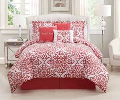 Coral Bedspread Cal King Bedding Ensembles