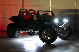 power wheels jeep hurricane modifications power wheels jeep light modifications ideas for the kiddos