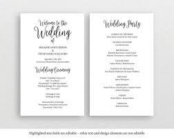 Create Your Own Wedding Program Best 25 Rustic Wedding Programs Ideas On Pinterest Fun Wedding
