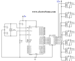 interfacing relay with using keil c at89c51 uln2003 electrical