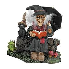 halloween collectible figurines warty nose witch statue halloween decor and 50 similar items