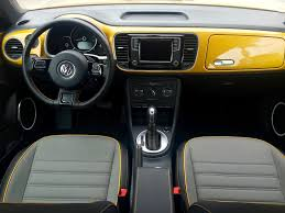 volkswagen bug 2016 interior five first impressions 2016 volkswagen beetle dune