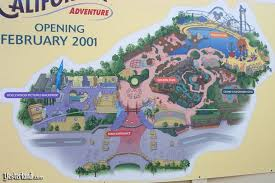 map of california adventure california adventure preview center at yesterland