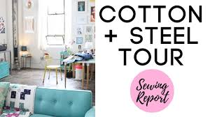 cotton steel studio tour fabric designers alexia abegg