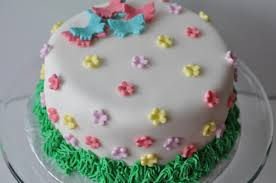 flower fondant cakes sew lah tea dough spring are you here