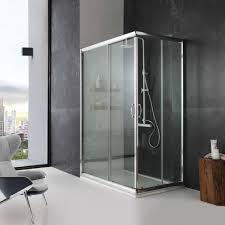 boxs doccia box doccia in cristallo 80x100 finitura trasparente