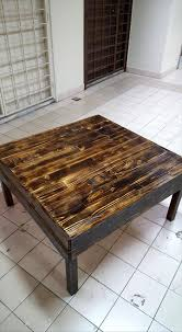 pallet coffee table with sliding drawers pallet furniture diy