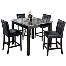 counter height dining room sets amazon com ashley furniture signature design maysville counter