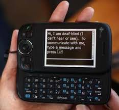 Blind People Phone Education New Device Lets Deaf Blind People Converse With Anyone
