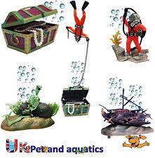 aquarium air ornaments ebay