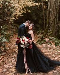 black wedding 21 wedding dresses for who only wear black dress