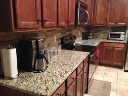 Stacked Stone Kitchen Backsplash Interior Modern Stacked Stone Backsplash Photos With No Grout