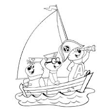 10 cute chipmunk coloring pages toddler love color