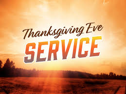 thanksgiving service pie immanuel baptist church
