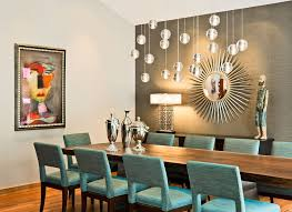 Living Room Accent Wall Elegant Hanging Chandelier Railing Back - Dining room accent wall