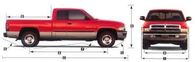 dodge ram 1500 curb weight 2001 dodge ram dimensions