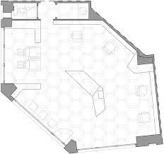 3novices joshua florquin adds hexagonal patterned ceiling to paris
