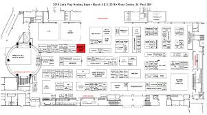 Map Of St Paul Mn 27th Annual Let U0027s Play Hockey Expo Hockeyshot