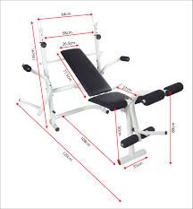 Multi Gym Bench Press Bench Multi Gym Bench Kakss All Purpose In Multi Bench For Home