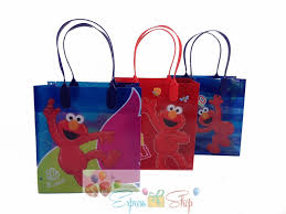 halloween party goodie bags 12pc sesame street elmo goody bags party favor bags gift loot