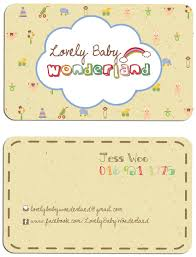 jean like design logo name card design lovely baby