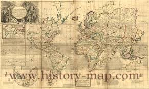 World Map Antique by World Map