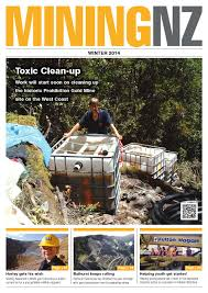 mining nz winter 2014 by waterford press limited issuu