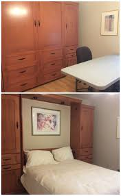 American Woodcrafters Loft Bed 70 Best Murphy Beds Images On Pinterest Bookcase Headboard Home