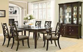 Espresso Dining Room Furniture by Coaster Meredith Dining Set Espresso 103531 Dinset At Homelement Com