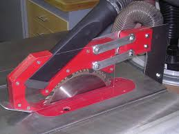 table saw guard plans tablesaw blade guard with dust collection by retiredcoastie
