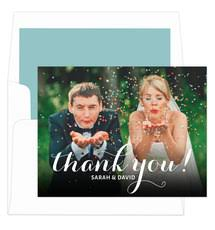 wedding thank you cards personalized wedding thank you cards