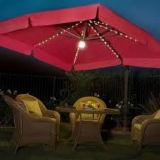 nice patio bar with umbrella lights patio design ideas 4769