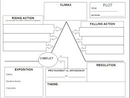 plot diagram worksheet short story short stories pinterest
