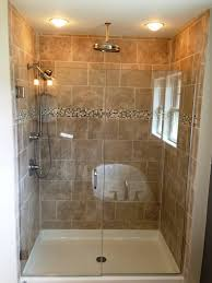 chic stand up shower glass door bathroom gorgeous white bathroom