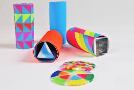 Paper Roll Crafts For Kids - mini diy kaleidoscopes open ended babble dabble do