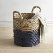 pier 1 imports ian blue ombre basket laundry apartment ideas