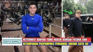 profil sosok jokowi sosok paspampres pengawal jokowi mendadak viral pasca mengawal