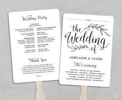 Printable Wedding Programs Templates Calligraphy Paper Template Vintage Postcard Inner Side Blank