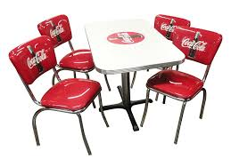 Kfi Furniture Amazon Com Vitro Ccrtc Coca Cola Dinette Furniture Set With 24