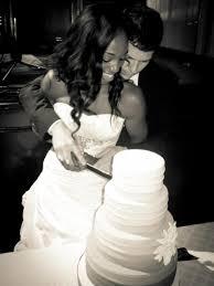 wedding cake cutting cakes desserts photos enuka okuma and groom cake cutting