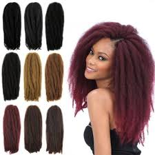photos of braided hair with marley braid 18inch afro kinky curly crochet hair extensions crochet braids