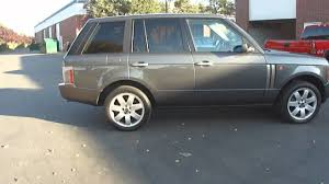 land rover gray 2004 range rover hse gray youtube