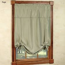 Tie Up Curtains Blackstone Tie Up Window Blackout Shade